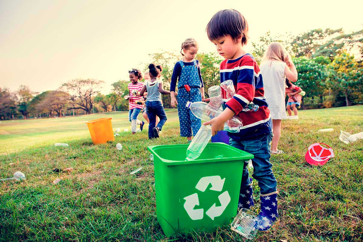 Cuida tu planeta. Aprende a reciclar