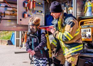 Jornada de prevención de incendios. Visita al Parque Central de Bomberos
