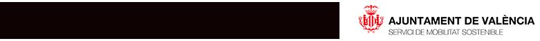 Logo Ajuntament de Valencia, Logo educació, logo Mobilització sostenible