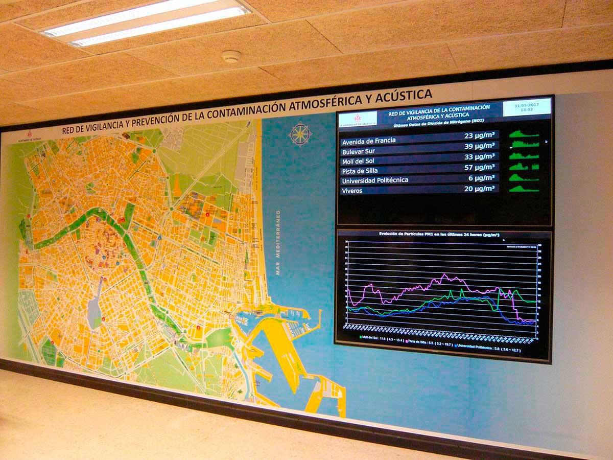 Vigilància i control de la contaminació acústica i atmosfèrica al municipi