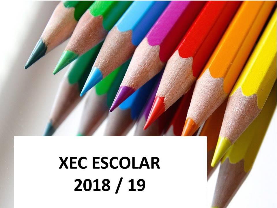 XEC ESCOLAR 2018-2019