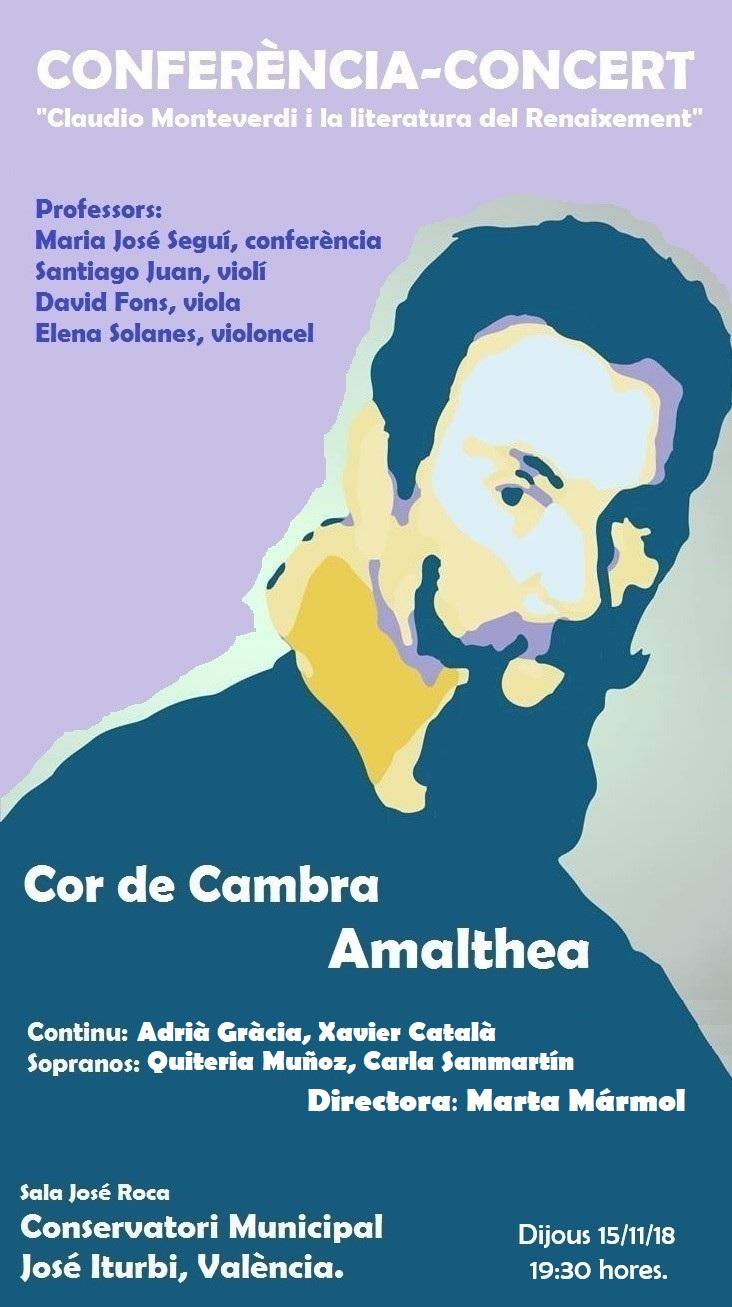"""Conferencia-Concierto """"Claudio Monteverdi y la literatura del Renacimiento"""""""