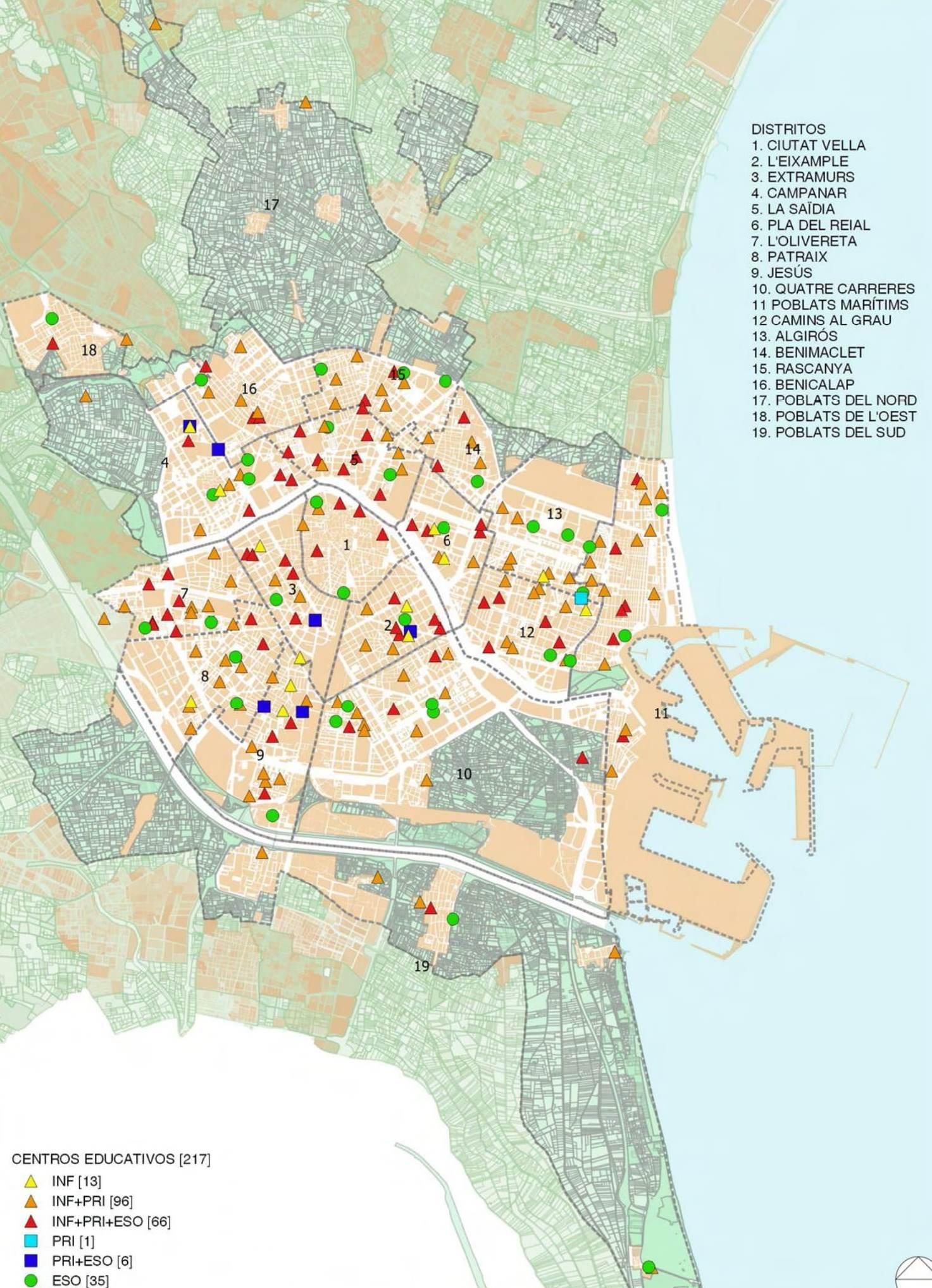 "Primer informe ""Projecte Mapa Escolar"""