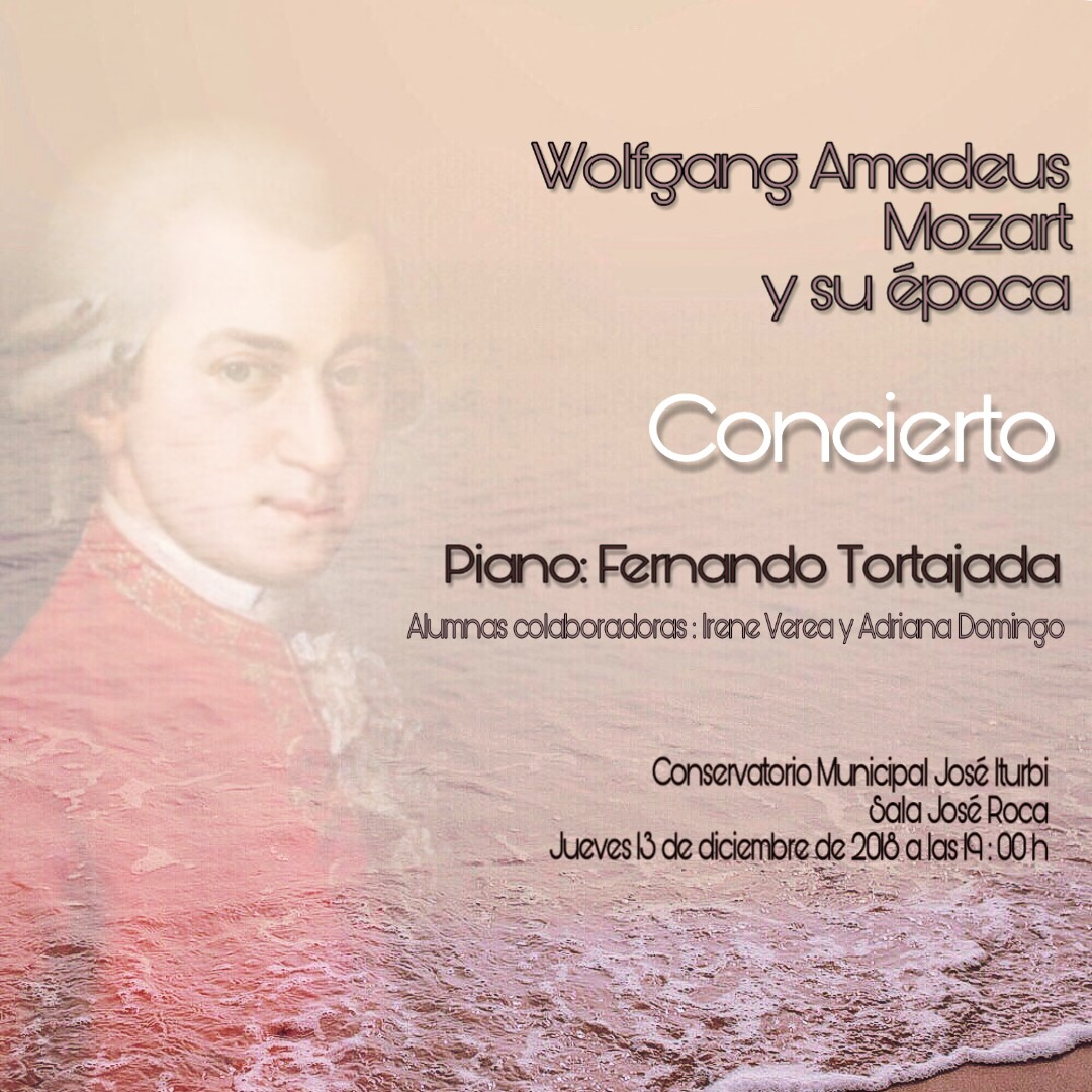 Concert de piano. Conservatori José Iturbi