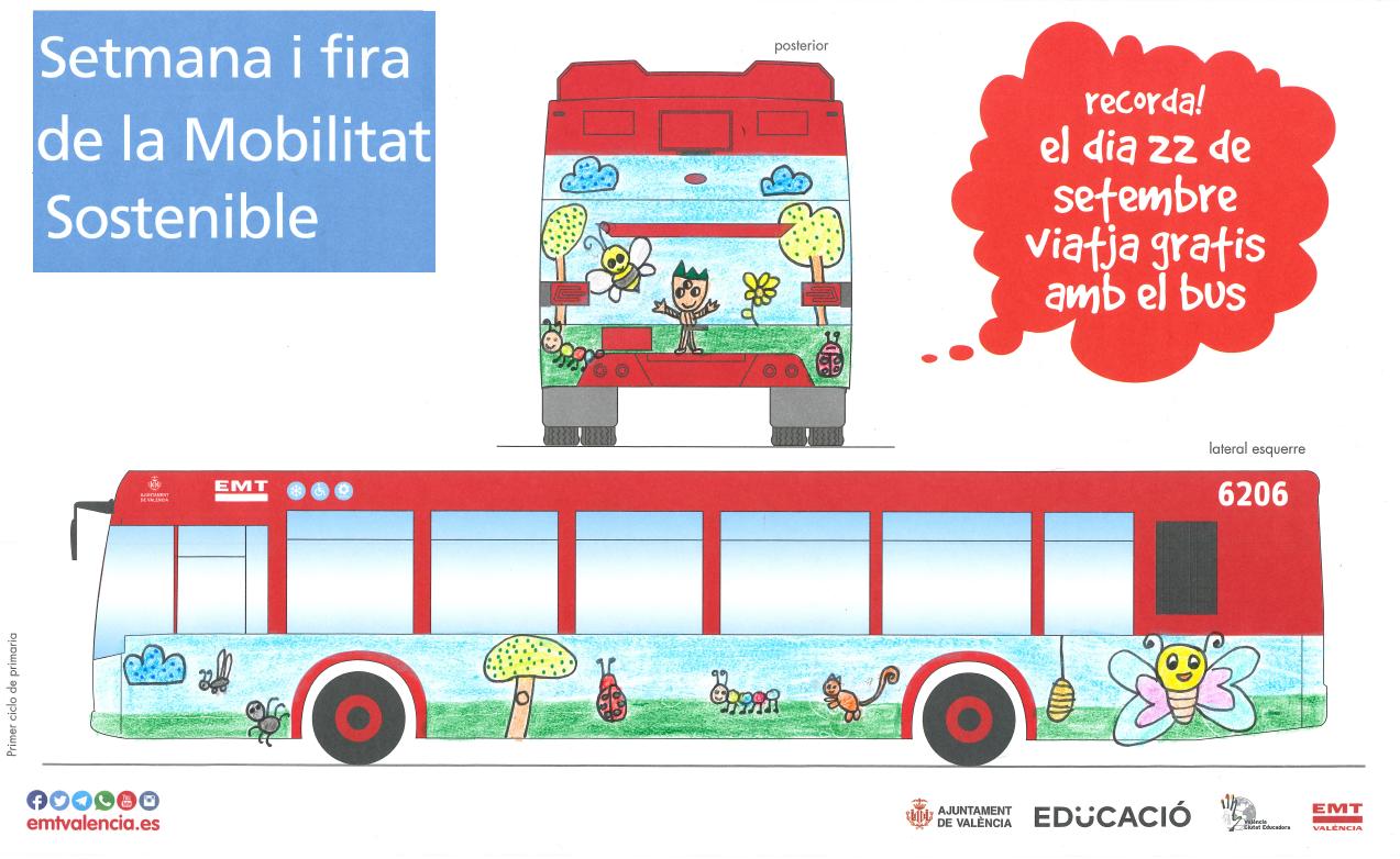 Campanya Setmana de la Movilitat: concurs de dibuix setmana europea de la mobilitat