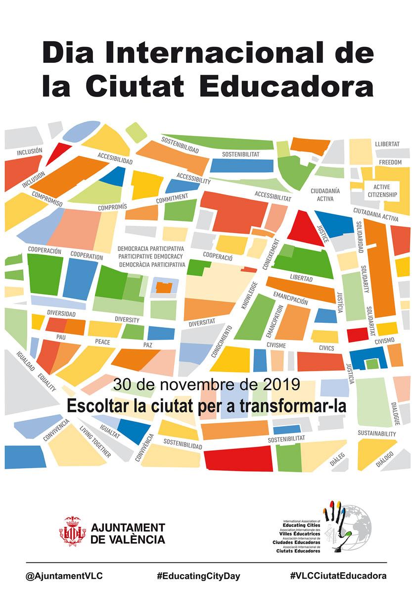 Programació completa del Dia de la Ciutat Educadora 2019